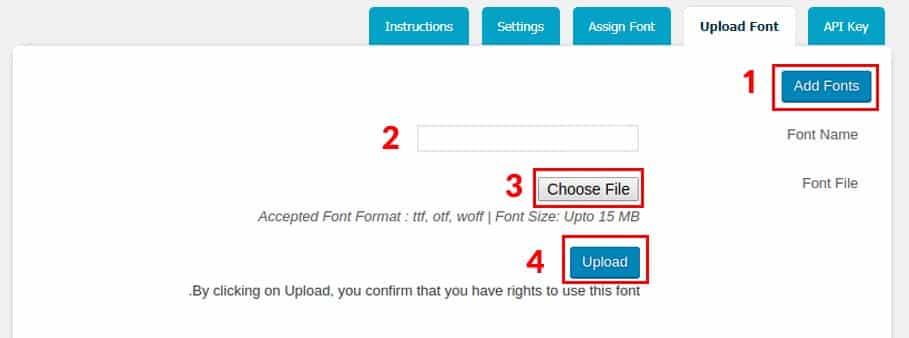 نحوه افزودن یا تغییر فونت در قالب وردپرس | افزونه Use Any Font