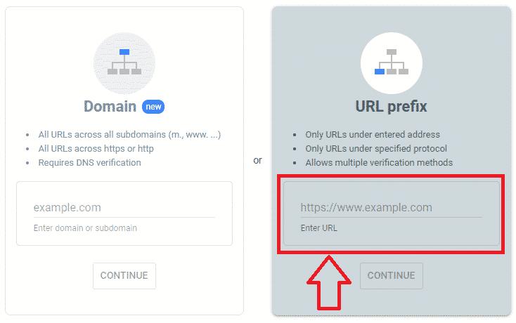 نصب سرچ کنسل با روش URL prefix
