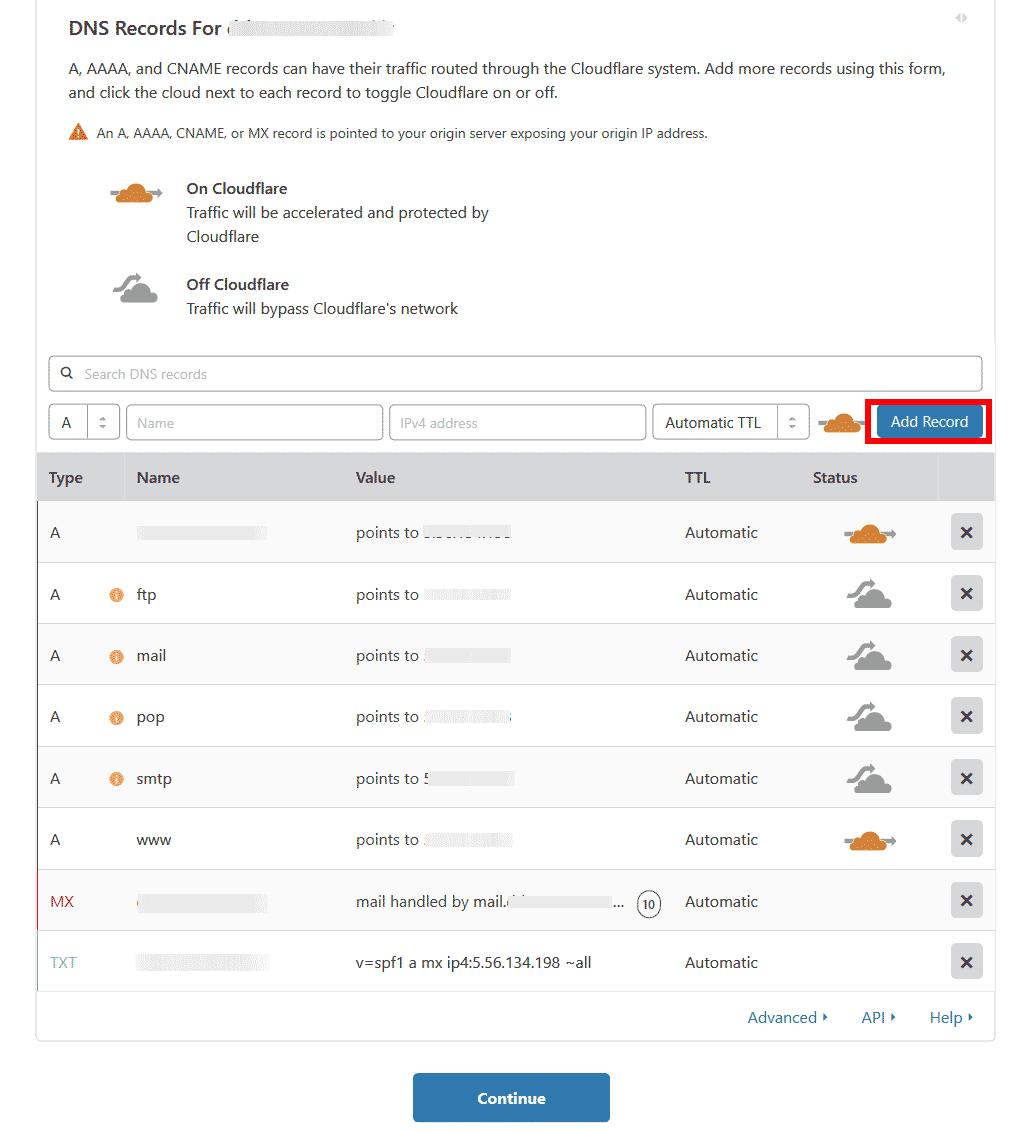 نحوه نصب و تنظیمات CDN رایگان CloudFlare