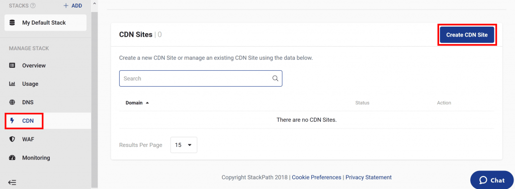 نحوه نصب و تنظیمات CDN تجاری MAXCDN یا StackPath