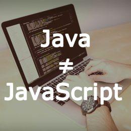 جاوا اسکریپت و جاوا